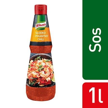 Knorr Sunshine Chili Słodko-pikantny sos 1 l -