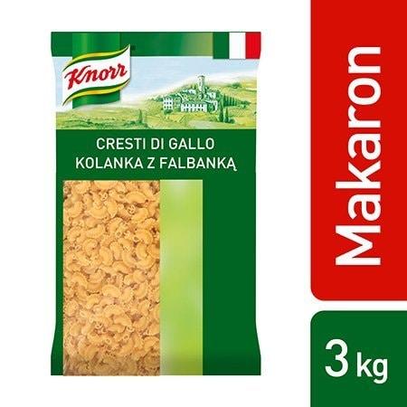 Cresti di gallo (Kolanka z falbanką) Knorr 3 kg -