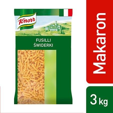 Fusilli (Świderki) Knorr 3 kg -