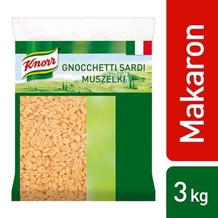 Gnocchetti Sardi (Muszelki) Knorr 3 kg -