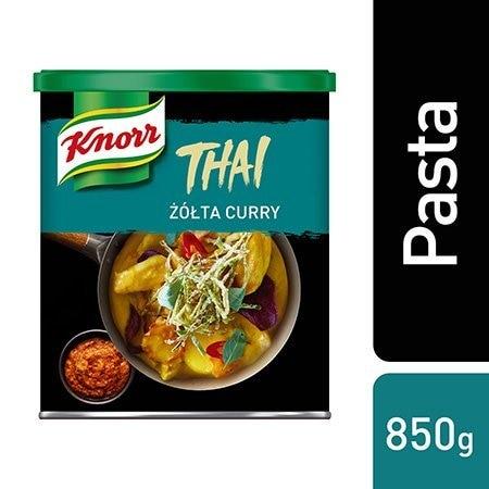 Knorr Żółta pasta curry 0,85 kg