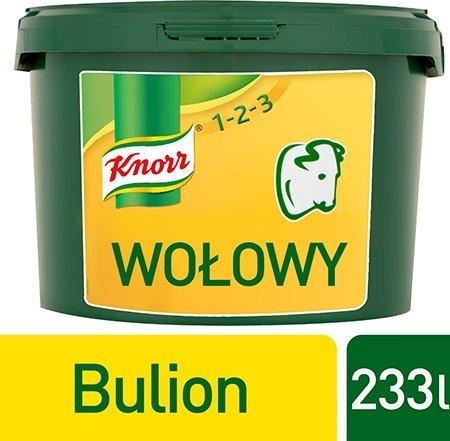 Knorr 1-2-3 Rosół wołowy  3,5 kg -