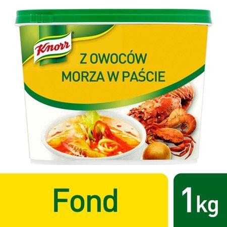 Knorr Fond z owoców morza w paście1 kg -