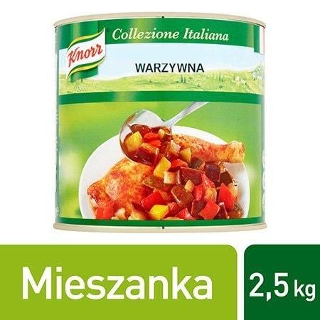 Knorr Ratatouille Mieszanka warzywna 2,5 kg -