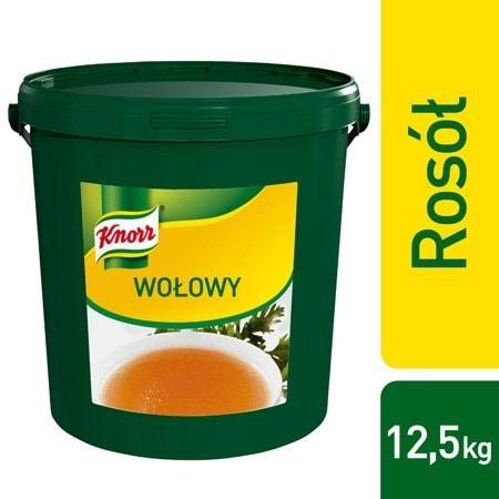 Knorr Rosół wołowy 12,5 kg -