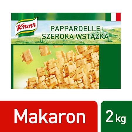 Pappardelle All'uovo (Szeroka wstążka, makaron jajeczny) Knorr 2 kg -