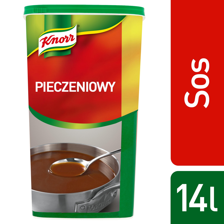 Sos pieczeniowy Knorr 1,4 kg - Oto rozwiązanie, które pozwala uzyskać tyle esencjonalnego sosu, ile potrzebujesz.