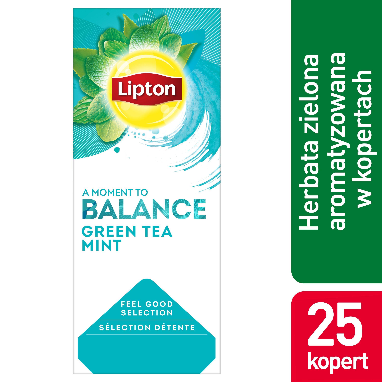 Lipton Classic Green Tea Mint (Zielona Herbata z dodatkiem mięty) 25 kopert -