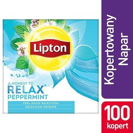 Lipton Classic Peppermint (Herbatka miętowa) 100 kopert -