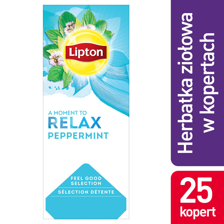 Lipton Classic Peppermint (Herbatka miętowa) 25 kopert -