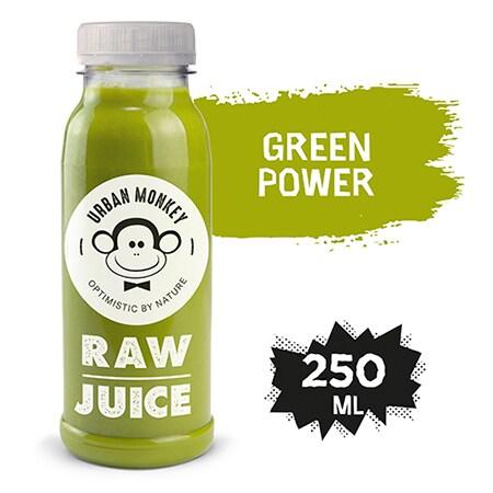 Urban Monkey Raw Sok Green Power 250 ml - Odkryj portfolio Urban Monkey!