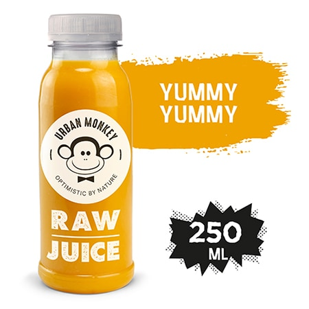 Urban Monkey Raw Sok Yummy Yummy 250 ml - Odkryj portfolio Urban Monkey!