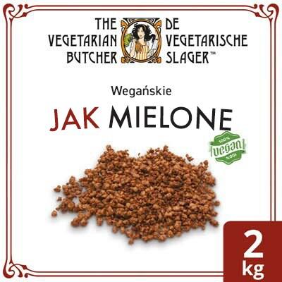 The Vegetarian Butcher Jak Mielone (No Mince) 2 kg - Wyroby oparte na produktach roślinnych, bazujące na smaku i teksturze mięsa zwierzęcego.