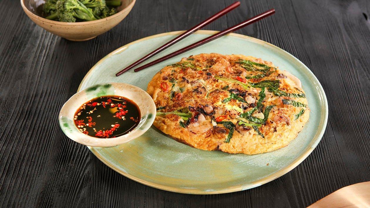 Omlet koreański Haemul Paejon