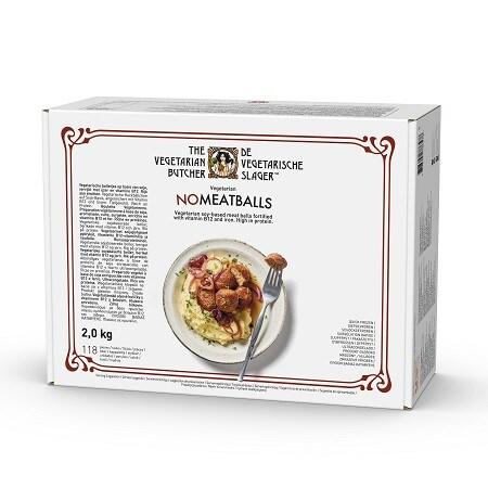 The Vegetarian Butcher Jak Klopsiki (No Meatballs) 2 kg - Wyroby oparte na produktach roślinnych, bazujące na smaku i teksturze mięsa zwierzęcego.